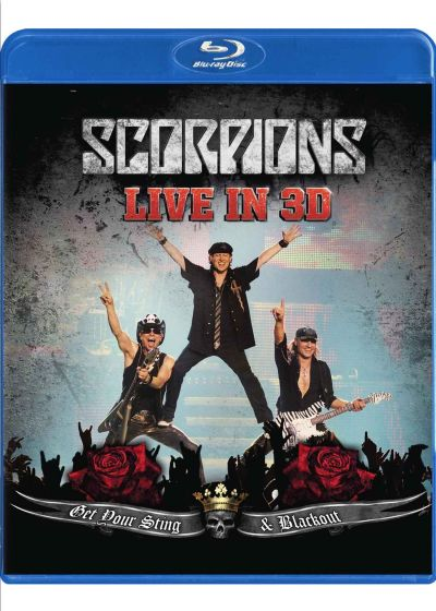 Scorpions : Get Your Sting & Blackout Live in 3D (Blu-ray 3D compatible 2D) - Blu-ray 3D