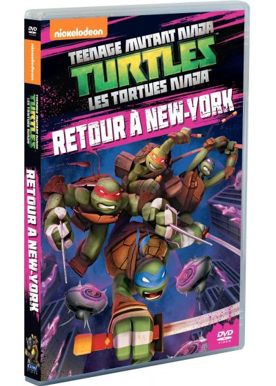 Les Tortues Ninja - Vol. 10 : Retour à New York - DVD