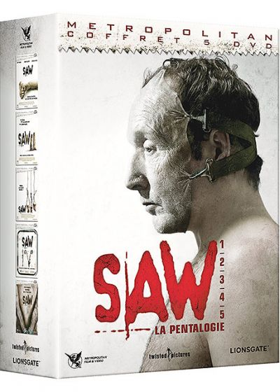 Saw : La pentalogie (Pack) - DVD