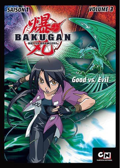 Bakugan Battle Brawlers - Saison 1 - Volume 3 - DVD