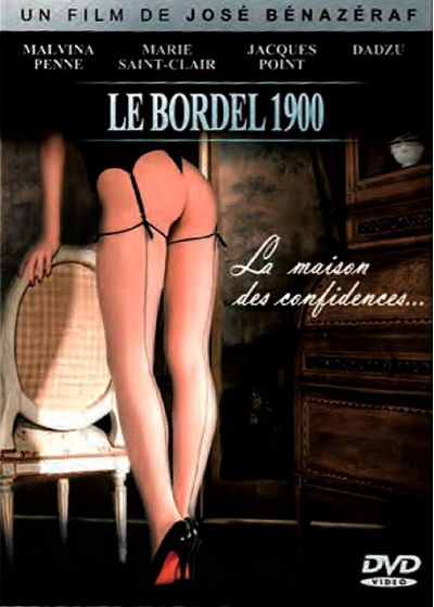 Le Bordel 1900 : la maison des confidences... - DVD