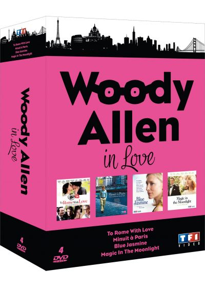 Woody Allen in Love : To Rome With Love + Minuit à Paris + Blue Jasmine + Magic in the Moonlight (Pack) - DVD