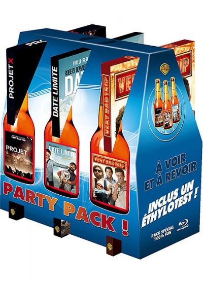 Party Pack ! - Coffret - Projet X + Very Bad Trip + Date limite (Édition Limitée) - Blu-ray