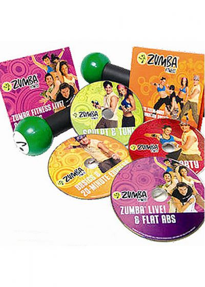 Kit Coffret Zumba - DVD
