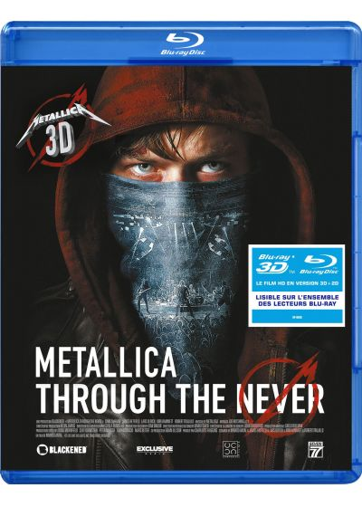 Metallica : Through the Never (Blu-ray 3D) - Blu-ray 3D