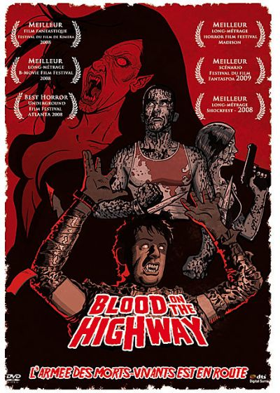 Blood on the Highway - DVD