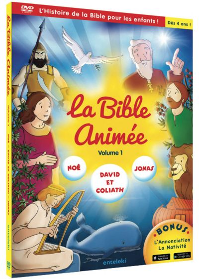 Bible animée - Vol. 1 - DVD