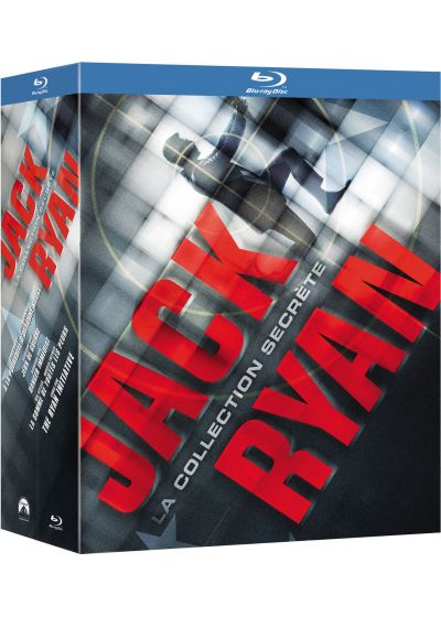 Jack Ryan, la collection secrète - Coffret 5 films - Blu-ray