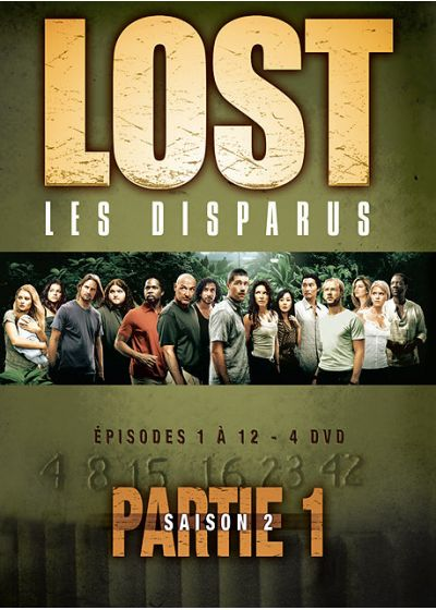 Lost, les disparus - Saison 2 - Partie 1 - DVD