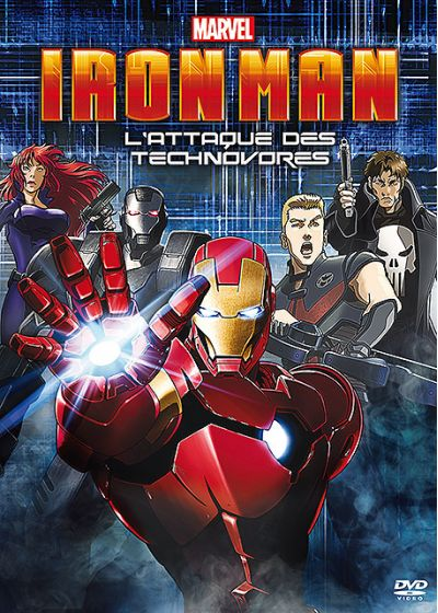 Iron Man : L'attaque des Technovores - DVD