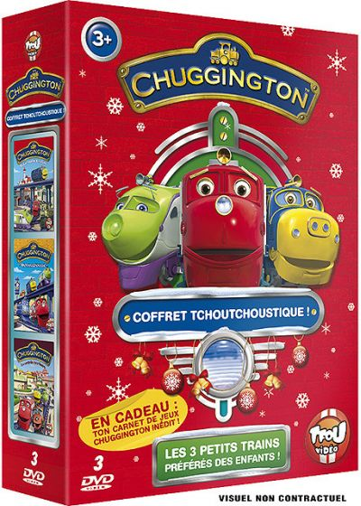 Chuggington - Le coffret tchoutchoustique ! (Pack) - DVD