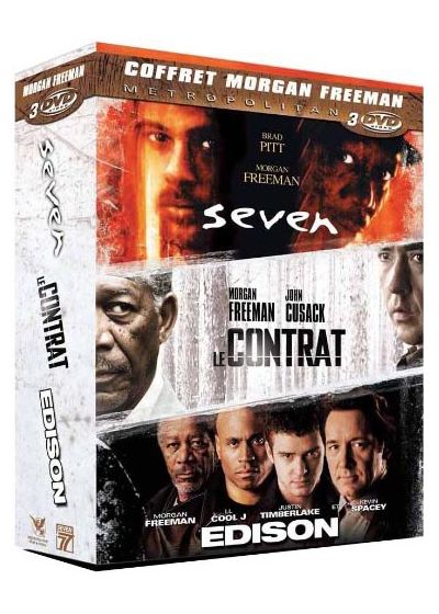 Morgan Freeman - Coffret 3 DVD (Pack) - DVD