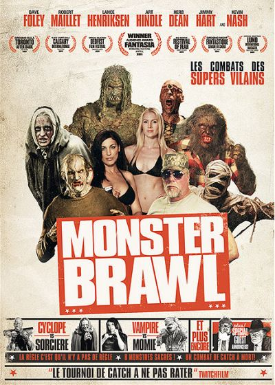 Monster Brawl (DVD + Copie digitale) - DVD
