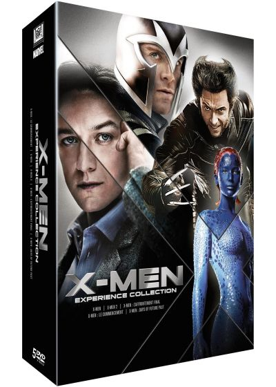 X-Men Experience Collection : L'intégrale des 5 films - DVD