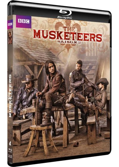 The Musketeers - Saison 2 - Blu-ray