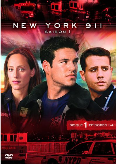 New York 911 - Saison 1 - DVD test - DVD