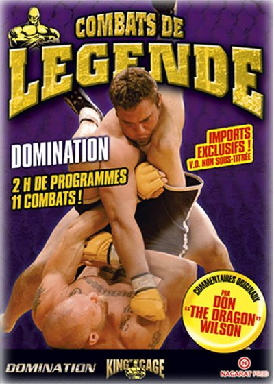 Combats de légende - Domination - DVD