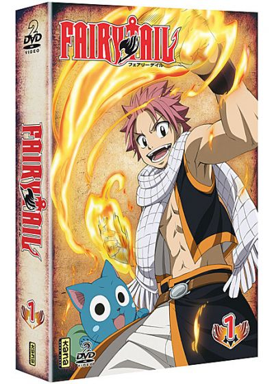 Fairy Tail - Vol. 1 - DVD