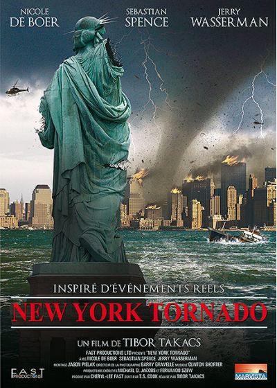 New York Tornado - DVD