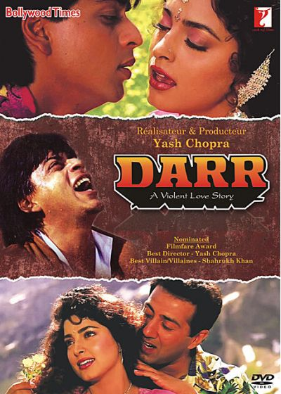 Darr - A Violent Love Story - DVD