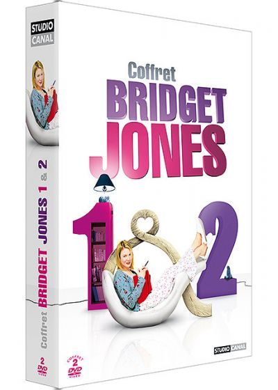 Bridget Jones 1 & 2 : Le journal de Bridget Jones + Bridget Jones : l'âge de raison (Pack) - DVD