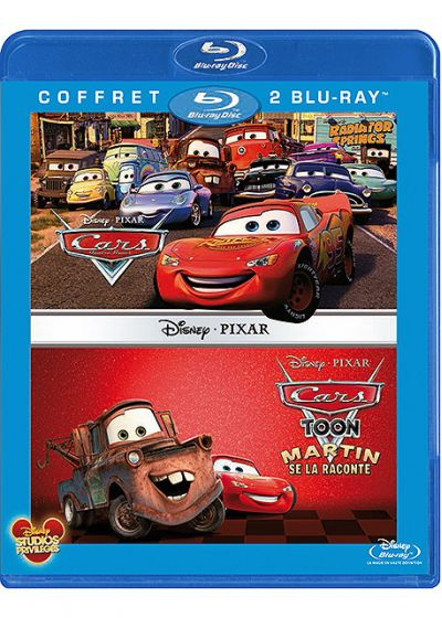 Cars Toon - Martin se la raconte + Cars, Quatre roues (Pack) - Blu-ray