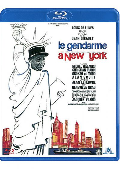 Le Gendarme à New York - Blu-ray