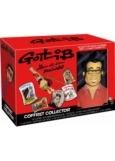 Gotlib - Coffret Collector (Coffret Collector) - DVD