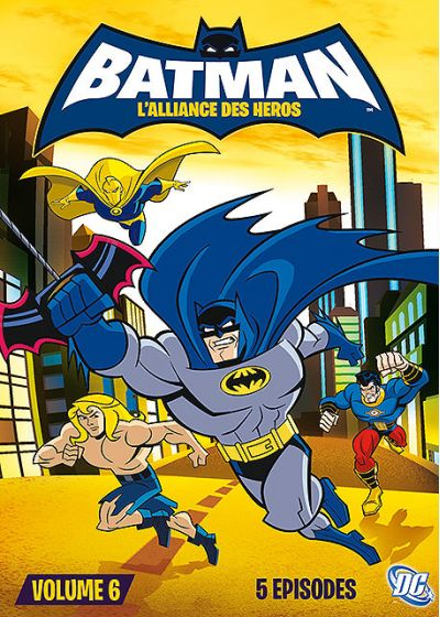 Batman : L'alliance des héros - Volume 6 - DVD