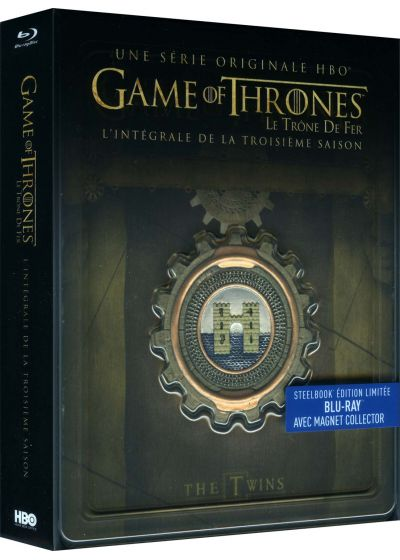 Game of Thrones (Le Trône de Fer) - Saison 3 (Édition collector boîtier SteelBook + Magnet) - Blu-ray