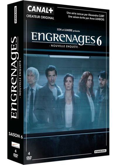 Engrenages - Saison 6 - DVD