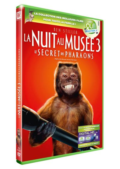 La Nuit au musée 3 : Le Secret des Pharaons (DVD + Digital HD) - DVD