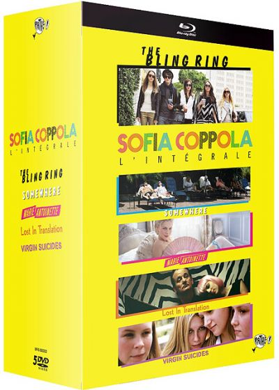 Sofia Coppola, l'intégrale - Coffret 5 films : The Bling Ring + Somewhere + Marie-Antoinette + Lost in Translation + The Virgin Suicides - Blu-ray