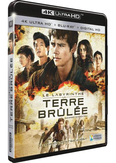 Le Labyrinthe : La Terre Brûlée (4K Ultra HD + Blu-ray + Digital HD) - Blu-ray 4K