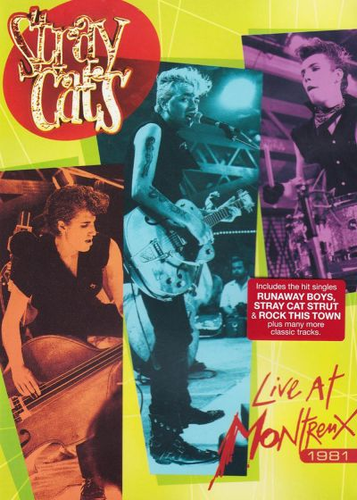 Stray Cats : Live at Montreux 1981 - DVD