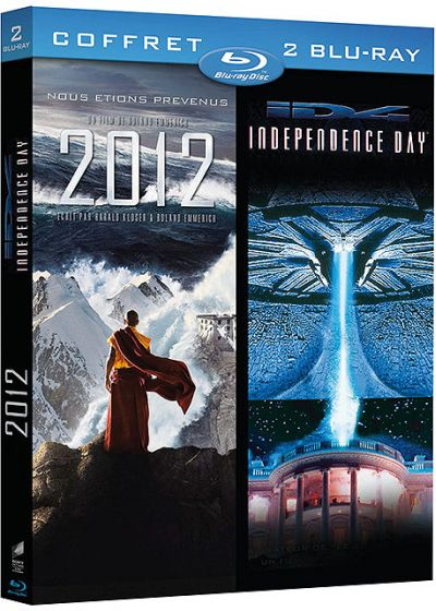 Coffret Blockbuster - 2012 + Independence Day (Pack) - Blu-ray