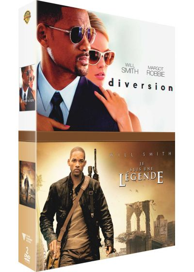 Will Smith : Diversion + Je suis une légende (DVD + Copie digitale) - DVD