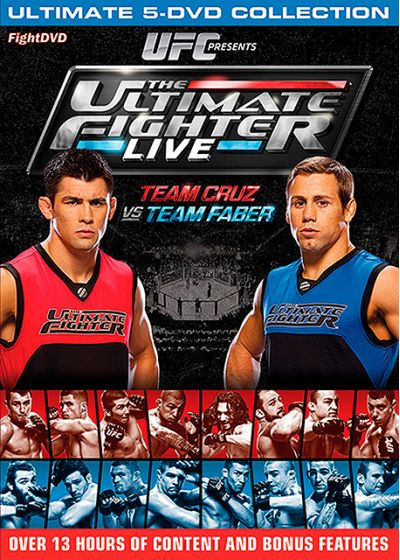 The Ultimate Fighter Live : Team Cruz vs Team Faber - DVD