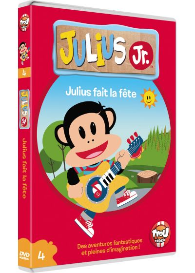 Julius Jr. - Volume 4 - Julius fait la fête - DVD
