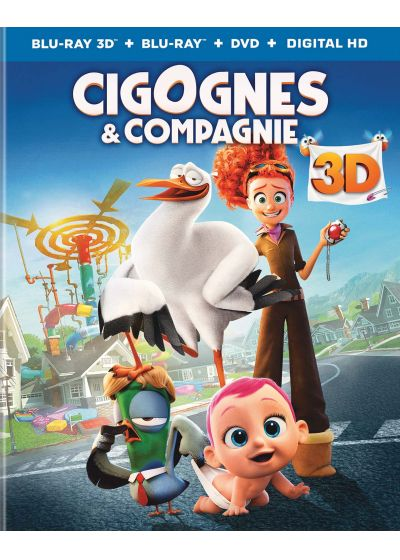 Cigognes et compagnie (Combo Blu-ray 3D + Blu-ray + DVD + Copie digitale) - Blu-ray 3D