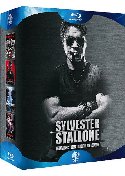 Sylvester Stallone - Coffret - The Expendables + Cobra + Demolition Man + Assassins (Pack) - Blu-ray
