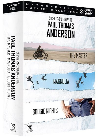 3 chefs-d'oeuvre de Paul Thomas Anderson : Boogie Nights + Magnolia + The Master (Pack) - DVD