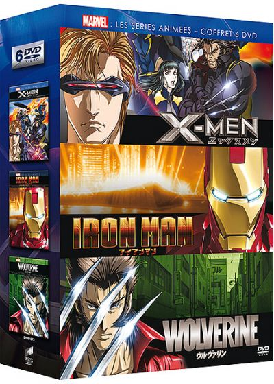 Marvel Séries Animées - X-Men + Iron Man + Wolverine (Pack) - DVD