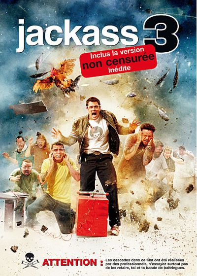 Jackass 3 (Non censuré) - DVD
