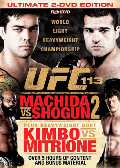 UFC 113 : Machida vs Shogun 2 - DVD