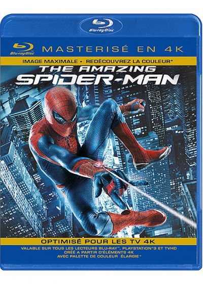 The Amazing Spider-Man (Blu-ray masterisé en 4K) - Blu-ray