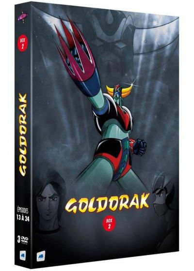 Goldorak - Box 2 - Épisodes 13 à 24 (Non censuré) - DVD
