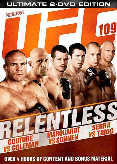 UFC 109 : Relentless - DVD