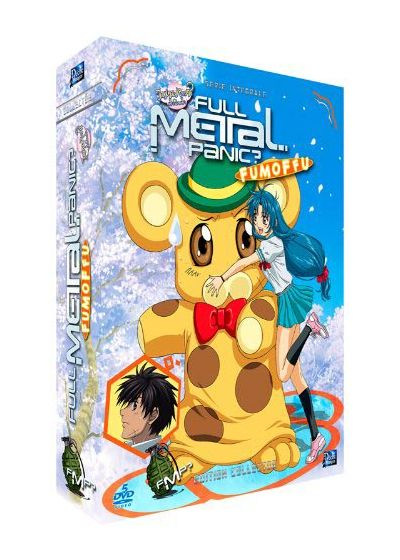 Full Metal Panic? FUMOFFU - Intégrale (Édition Collector) - DVD