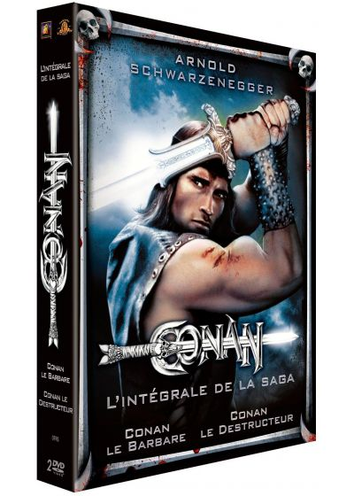 Conan le barbare + Conan le destructeur (Pack) - DVD